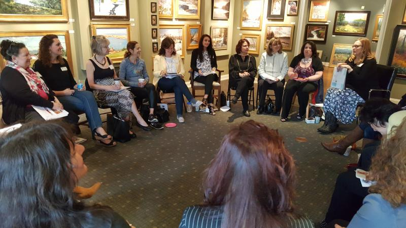 Women's Roundtable Silverman Gallery